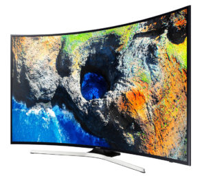 Televizor LED Curbat Smart Samsung, 138 cm, 55MU6202, 4K Ultra HD