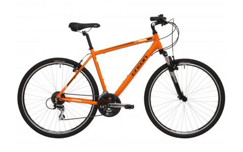 Bicicleta Creon Dover, 28, portocaliu-negru