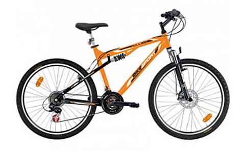 Bicicleta Bikesport Full 26 mango/negru