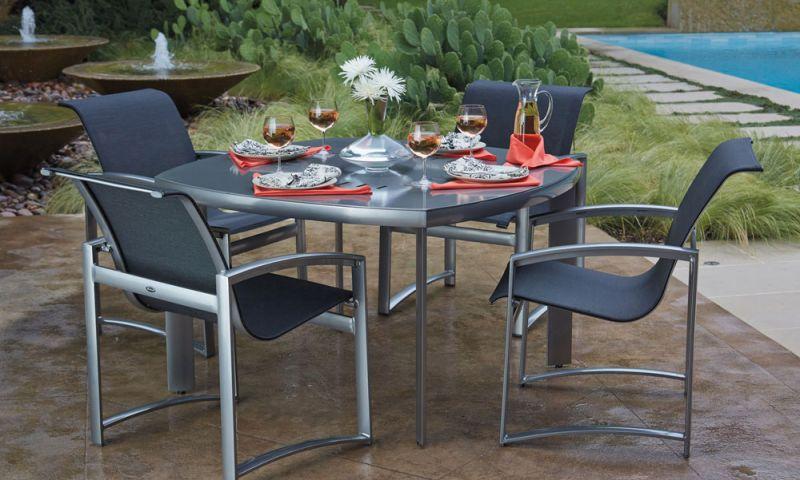 mobilier de grădină din aluminiu
