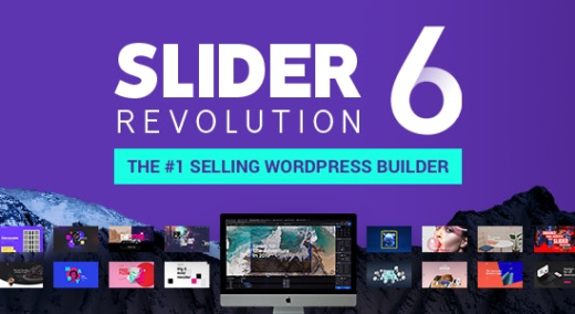 Slider Revolution Responsive WordPress Plugin (RevSlider)