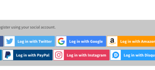 WooCommerce – Social Login