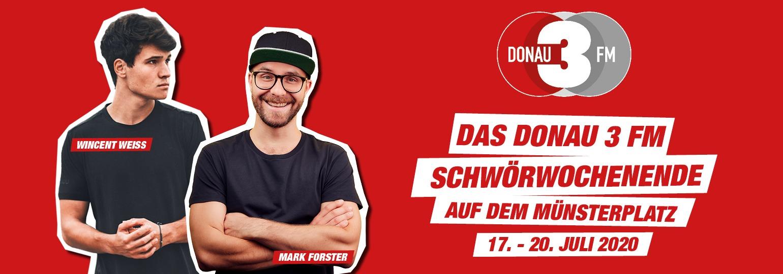 Das DONAU 3 FM Schwörwochenende