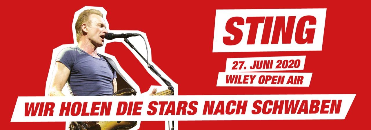 Sting kommt nach Neu-Ulm