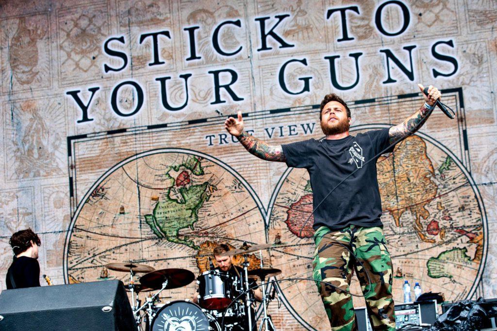 Stick To Your Guns @ Trix: Alles kapot voor de vrede met jezelf