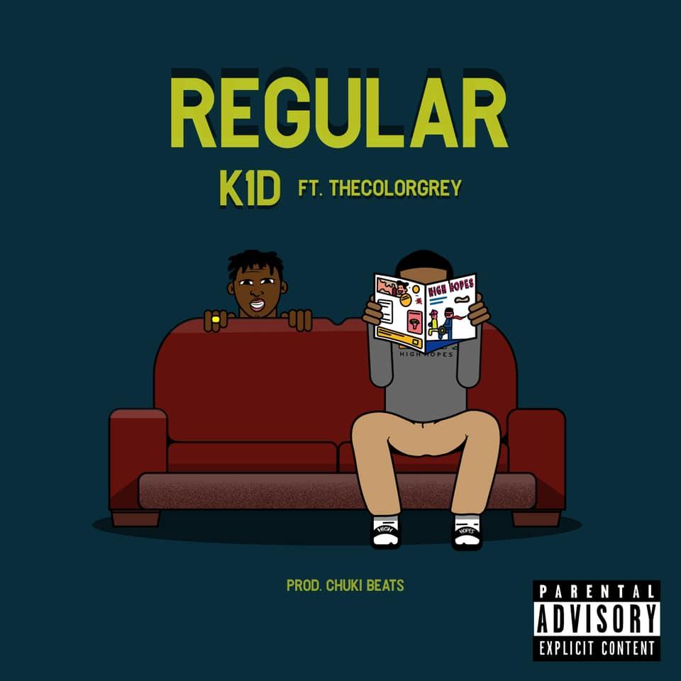 """Nieuwe single K1D feat. TheColorGrey – """"Regular"""""""