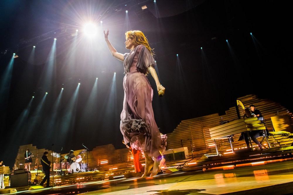 Florence & The Machine @ Sportpaleis: Boodschapster van liefde en vrede