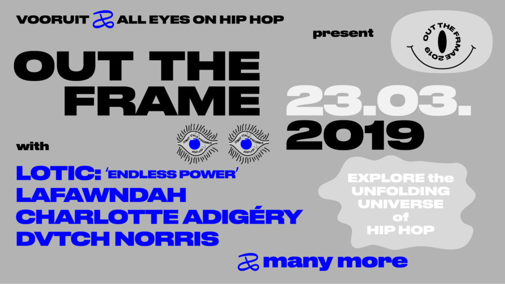 Win duotickets voor het hiphopfestival OUT THE FRAME met o.a. Charlotte Adigéry & DVTCH NORRIS
