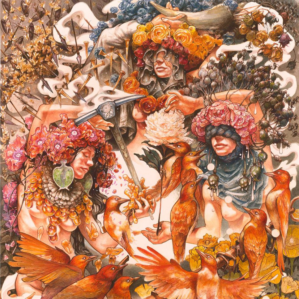 "Nieuwe single Baroness – ""Throw me an Anchor"""