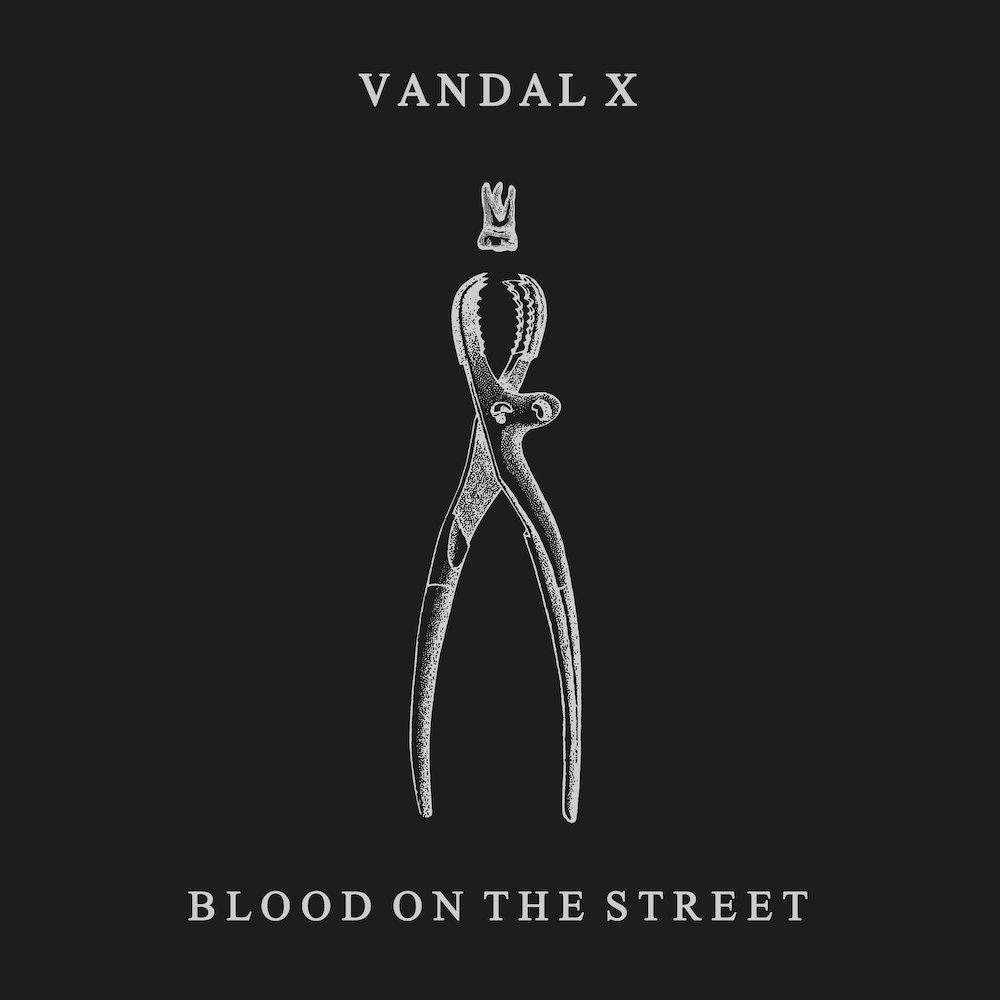 Vandal X – Blood On The Street (★★★★): Een pijnlijke clusterbom die blijft nazinderen