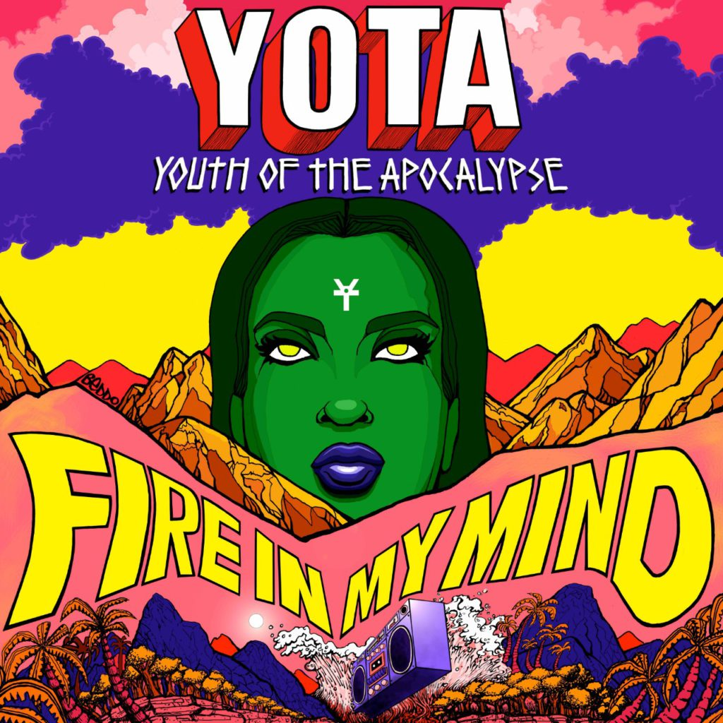 "Nieuwe single YOTA – ""Fire In My Mind"""