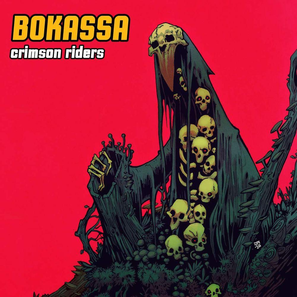 Bokassa – Crimson Riders (★★★★): Headbangen van begin tot eind