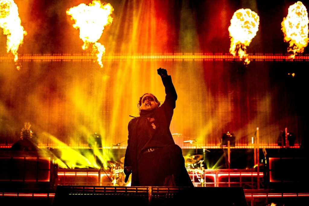 Slipknot @ Graspop Metal Meeting: Boos, bozer, boost