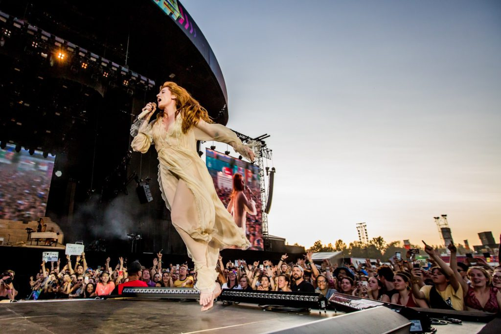 Florence + The Machine @ Rock Werchter 2019: Bloed, zweet en beleving
