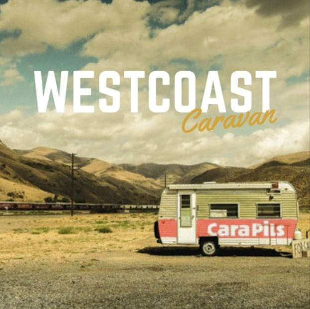 "Nieuwe singles West Coast Caravan – ""Black Tides"" & ""Night Time (All Day)"""