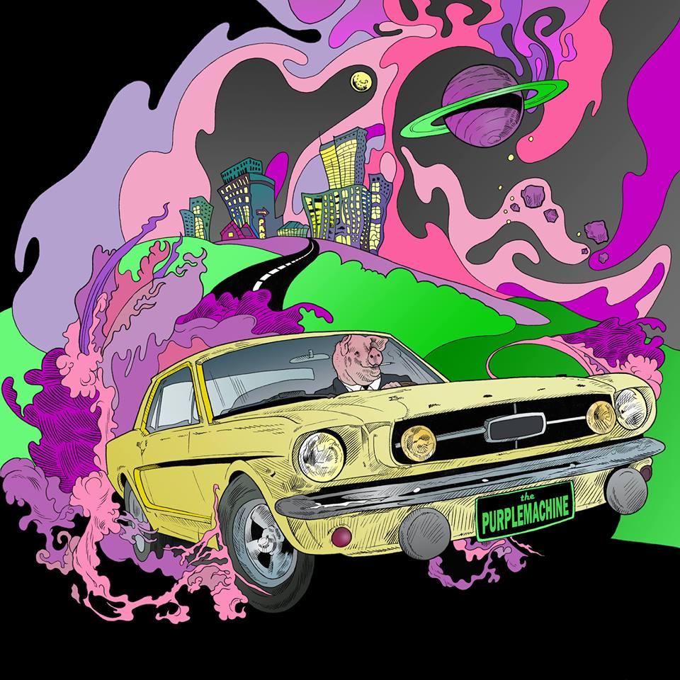 Zalm van de maand: The Purplemachine