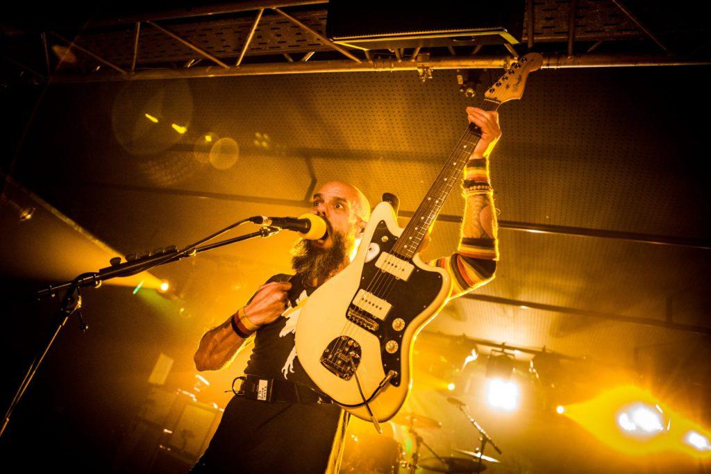 Baroness @ Trix Club: Combinatie van energie, optimisme en scheurende gitaren