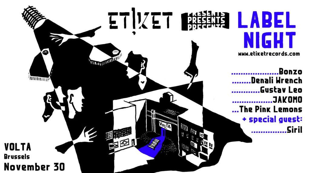ETiKET Label Night @ Volta: Indieviering