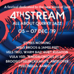 4th Stream Festival - All About Quirky Jazz (Dag 1): 2 Times Nothing & Niels Broos x Jamie Peet