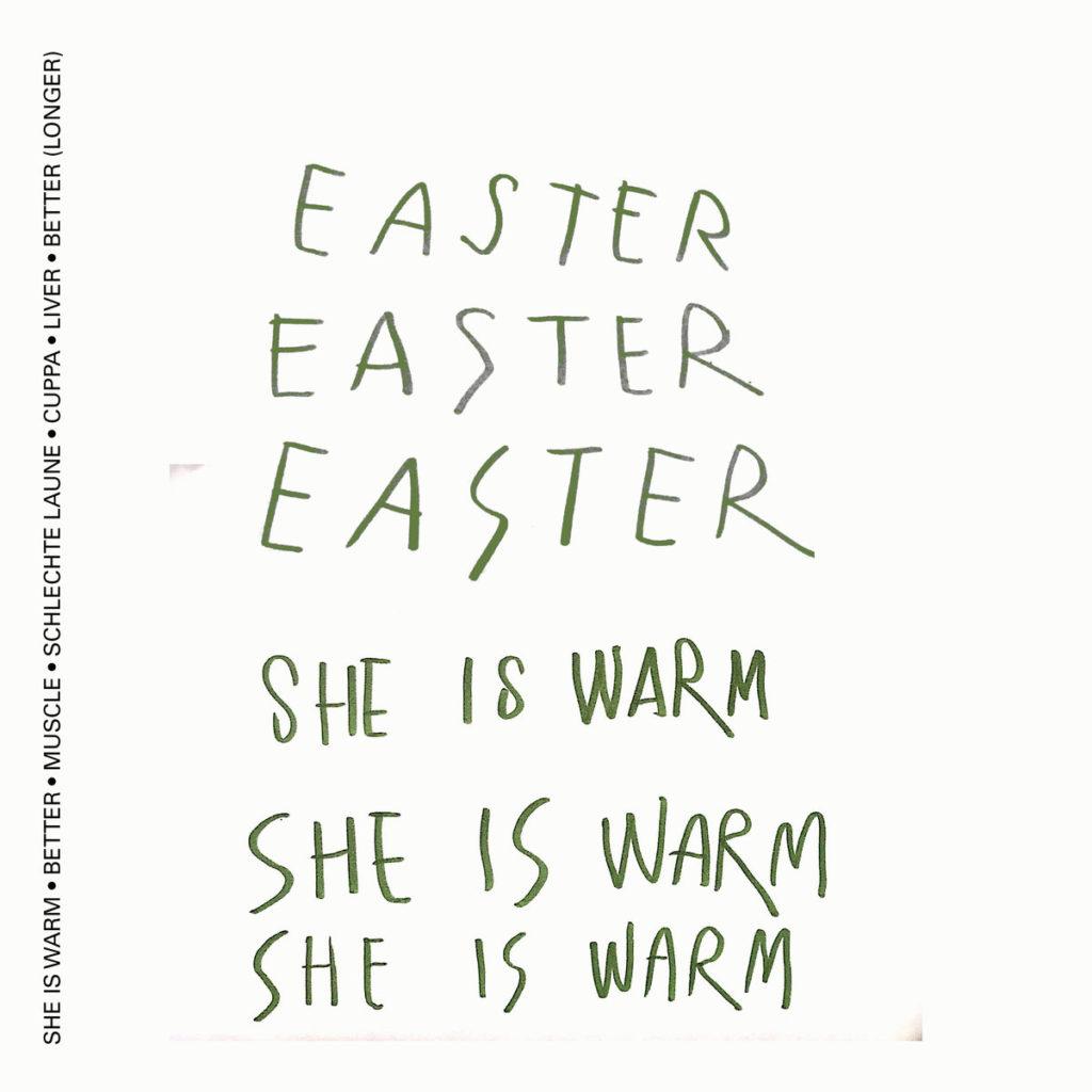 Easter – She Is Warm (★★★★): Lentegeur en Duitse dwaasheid