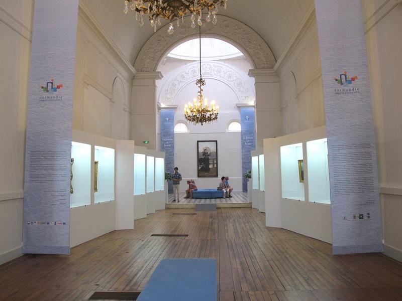 L'ancienne chapelle des Augustines, aujourd'hui théâtre des expositions temporaires.