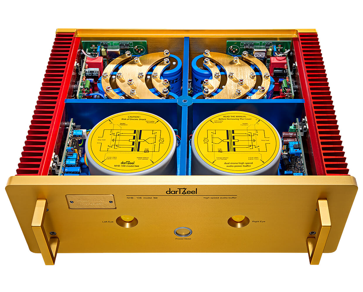 Nhb 108 Model 2 Often Envied Never Equaled Dartzeel Audio Sa Circuit With Voice Over Capability Power Output Of 150 Watts Per Channel And Its Circuits Patented Worldwide That Prevent Global Negative Feedback The Two Connects