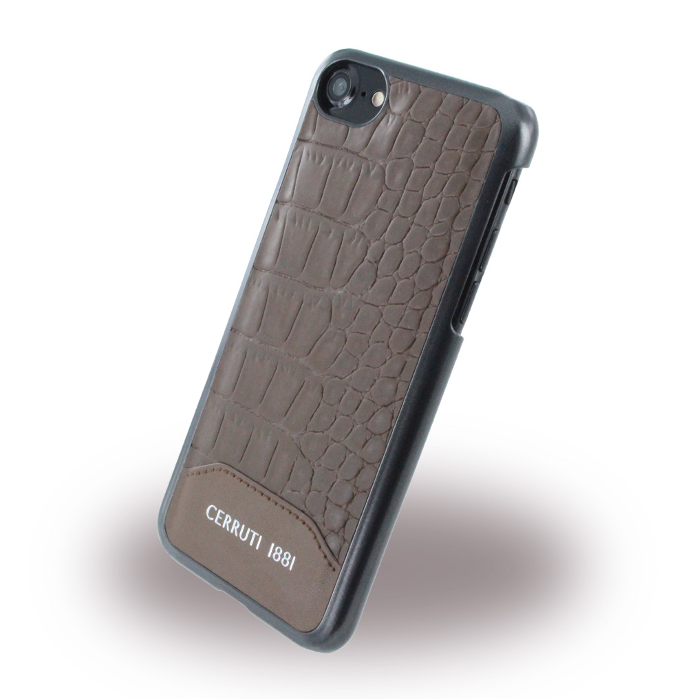 Crocodile Print - Leatherette / Hard Cover - iPhone 7,8