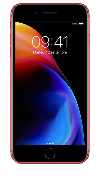iPhone 8 Plus (PRODUCT)RED Special Edition - Rød