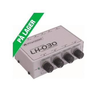 Omnitronic LH-030 hovedtelefonforstærker, 4 kanaler