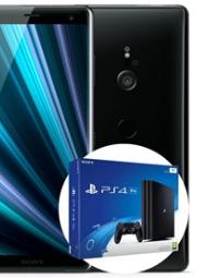Sony Xperia XZ3 + PS4 Pro