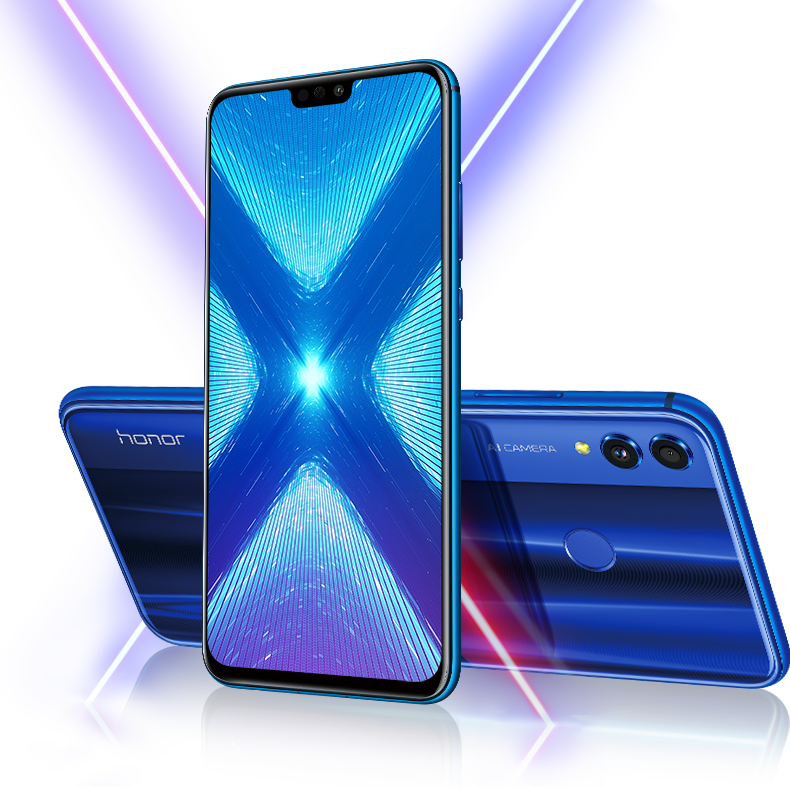 Huawei 8X (Android)