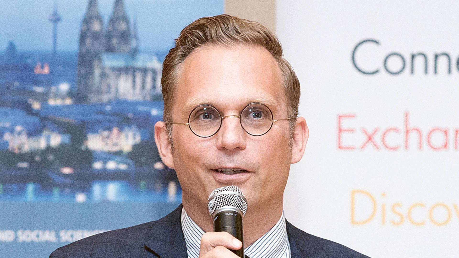 Dr. Gerrit Rößler, Programmkoordinator des DWIH New York