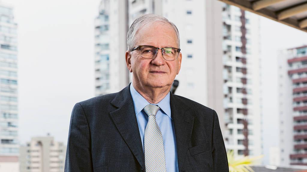 Prof. Dr. Marco Antonio Zago, Präsident des Stiftungsrats von FAPESP,   der Stiftung zur Forschungsförderung des Bundesstaates São Paulo