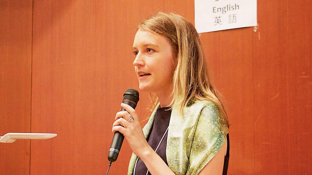 Laura Blecken, neue Programmkoordinatorin des DWIH Tokyo