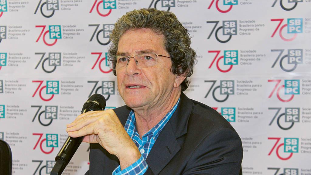 Professor Ildeu de Castro Moreira, President of the Brazilian  Society for the Advancement of Science (SBPC)