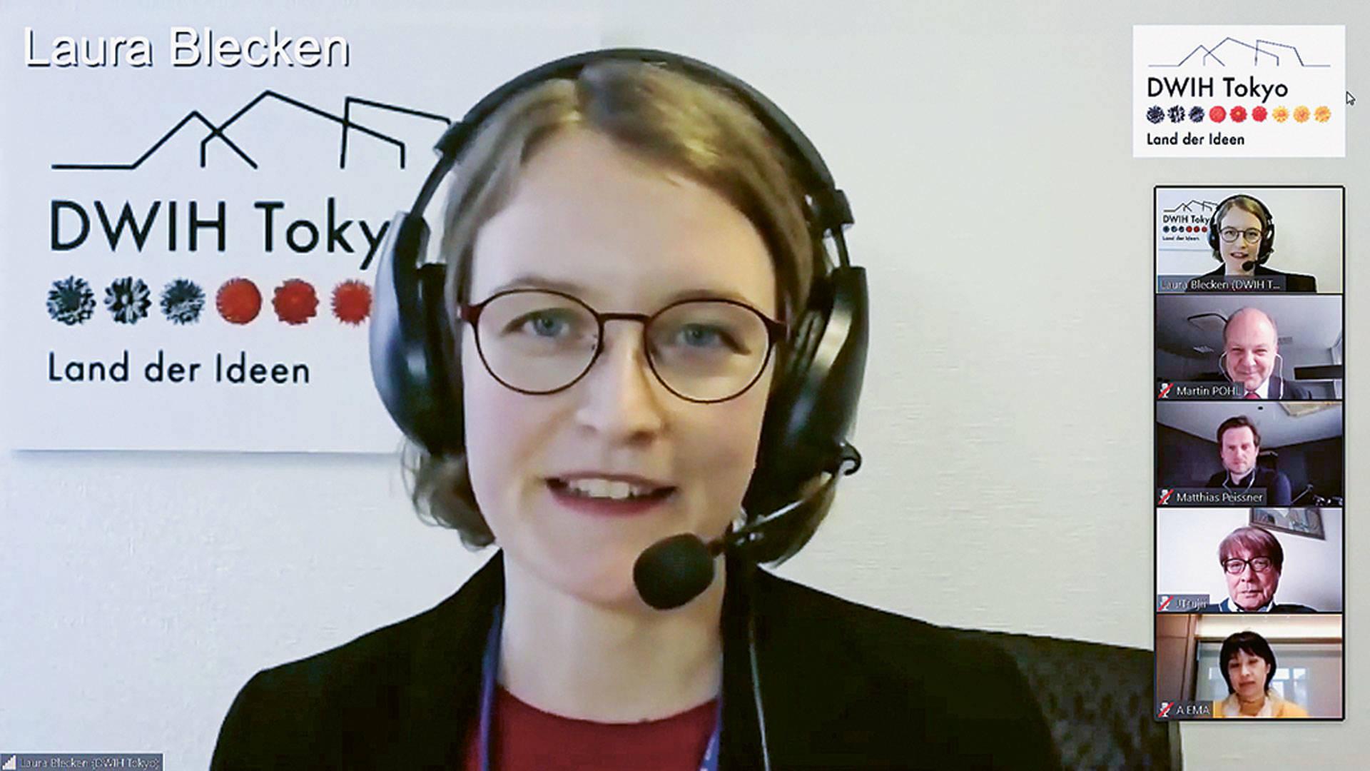 Programmkoordinatorin Laura Blecken:  Blick für mehr als nur Technik