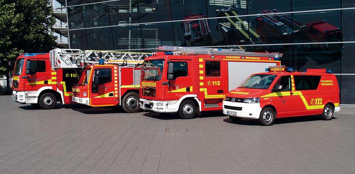 Neubeschaffung eines LF 10  für die Feuerwehr Neckarsulm