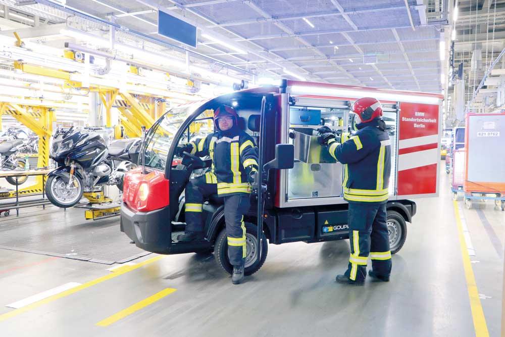 Kleinlöschfahrzeuge mit Elektrofahrgestellen