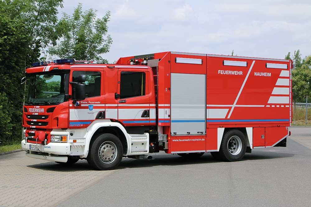 FF Nauheim stellt GW-L2 TH als Ersatz für einen Rüstwagen in Dienst