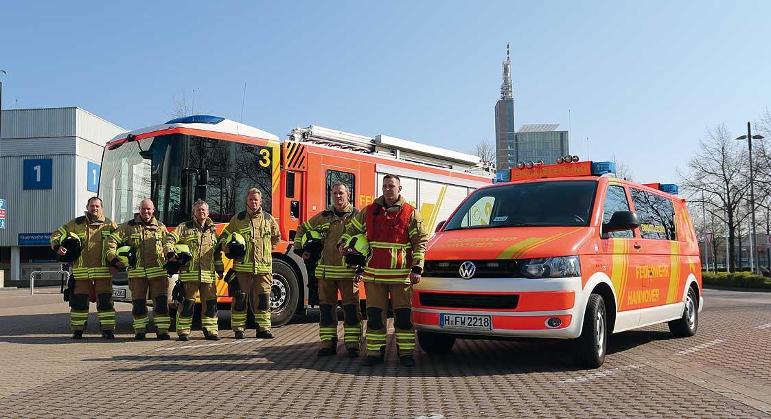Feuerwehr Hannover übernimmt Aufgaben der Werkfeuerwehr Deutsche Messe AG