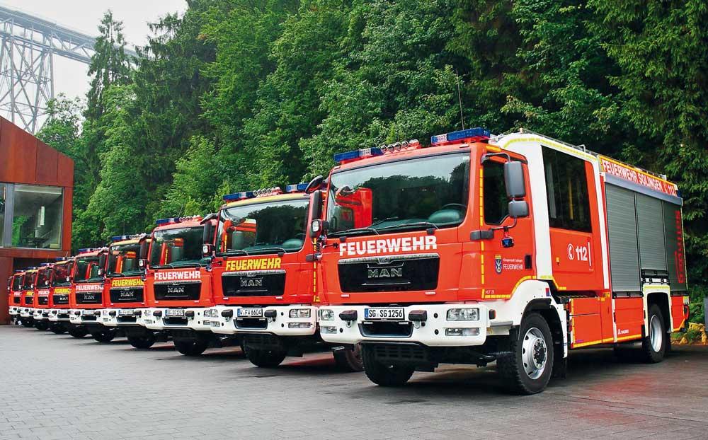 Neue Hilfeleistungslöschfahrzeuge für die BF Solingen und Wuppertal