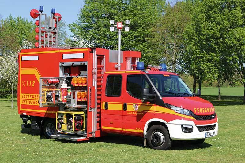 Feuerwehr Seligenstadt:  neues KLAF