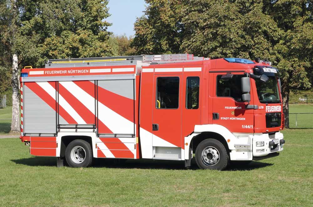 56 Millionen Euro Förderung für die Feuerwehren