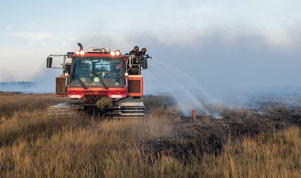 Großeinsatz »Moorbrand« in Meppen