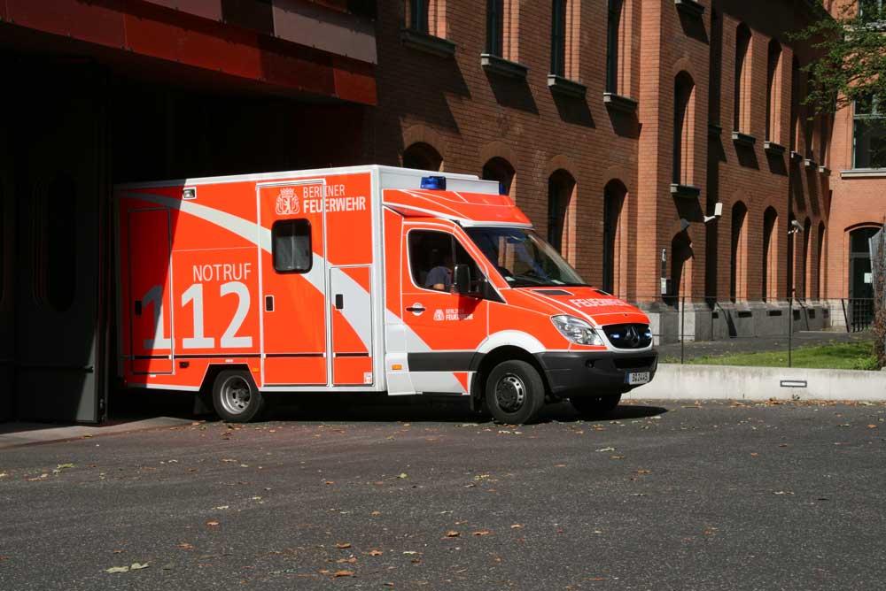 Jahresbilanz der Berliner Feuerwehr