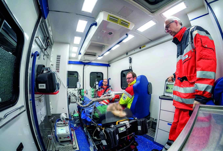 Feuerwehr Bochum:  neues Adipositaskonzept