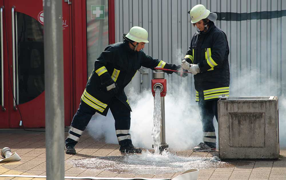Schulfach »Feuerwehr-Grundausbildung«