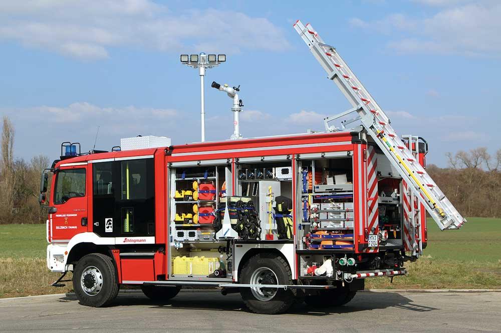 FF Sulzbach erhält erstes Varus-TLF-4000 mit Gruppenkabine