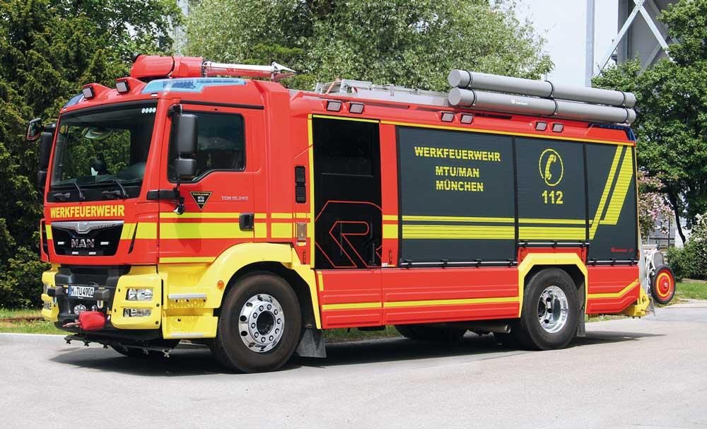Neues UHLF für die Werkfeuerwehr MTU/MAN München