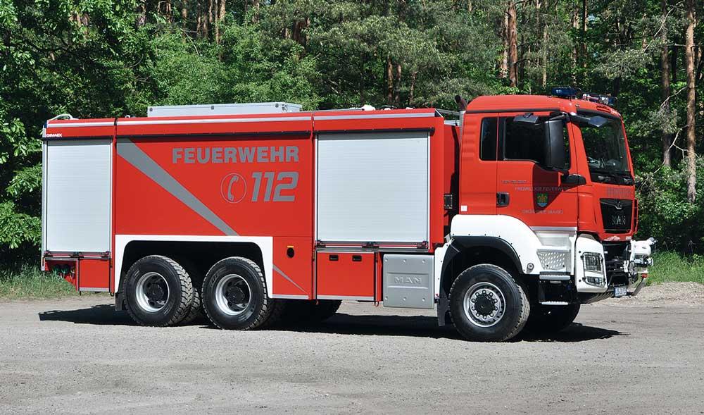 GTLF 10000 bei der  FF Grünheide (Mark)